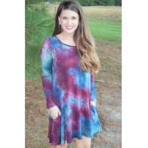 Tie Dye Dress. Women's Size Small.